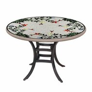 "KNF 42"" Round Hummingbird Bistro Table"