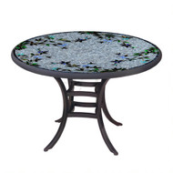 "KNF 36"" Round Royal Hummingbird Bistro Table"