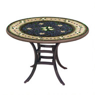 "KNF 36"" Round Tuscan Lemons Bistro Table"