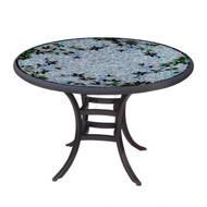 "KNF 42"" Round Royal Hummingbird Bistro Table"