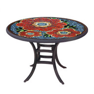 """KNF 42"""" Round Zinnia Bistro Table"""