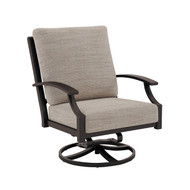 Tropitone Marconi Cushion Swivel Action Lounge Chair