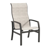 Tropitone Muirlands Sling High Back Dining Arm Chair