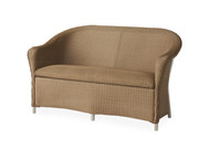 Lloyd Flanders Reflections Loveseat with Padded Seat