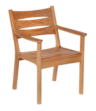 Barlow Tyrie Monterey Solid Teak Dining Arm Chair