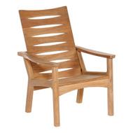 Barlow Tyrie Monterey Solid Teak Adjustable Club Chair