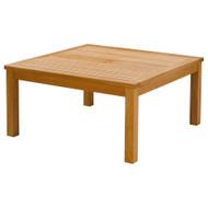 Barlow Tyrie Haven Teak Square Conversation Table
