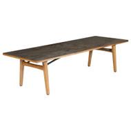 "Barlow Tyrie Monterey 118"" Rectangular Ceramic Top Dining Table"