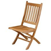 Barlow Tyrie  Ascot Teak Folding Dining Side Chair