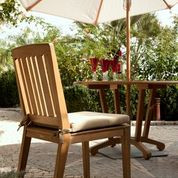 Barlow Tyrie Chesapeake Teak Dining Side Chair
