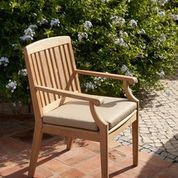 Barlow Tyrie Chesapeake Teak Dining Arm Chair