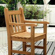 Barlow Tyrie Felsted Teak Garden Arm Chair