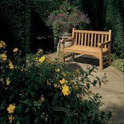 "Barlow Tyrie Glenham Teak 59"" Garden Bench"