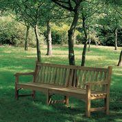 "Barlow Tyrie Glenham Teak 93"" Garden Bench"
