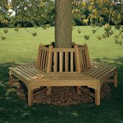 Barlow Tyrie Glenham Teak Hexagonal Tree Bench