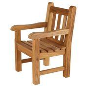 Barlow Tyrie Glenham Teak Junior Garden Arm Chair