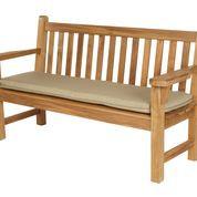 """Barlow Tyrie London Teak 63"""" Garden Bench"""