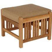 Barlow Tyrie Mission Teak Deep Seating Footstool