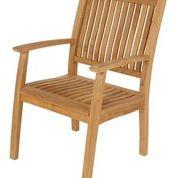 Barlow Tyrie Monaco Teak Dining Arm Chair
