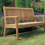 "Barlow Tyrie Monaco Teak 57"" Garden Bench"