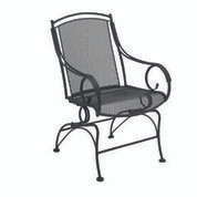 Woodard Modesto Coil Spring Dining Arm Chair
