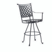 Woodard Maddox Swivel Bar Stool