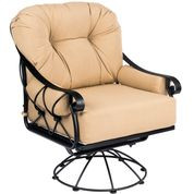 Woodard Derby  Swivel Rocking Lounge Chair