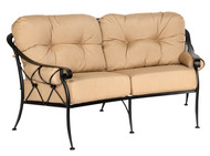 Woodard Derby Crescent Love Seat