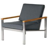 Barlow Tyrie Equinox Stainless Steel Club Chair