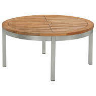 """Barlow Tyrie Equinox Stainless & Teak 40"""" Round Conversion Table"""