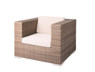 Tropitone Arzo Woven Lounge Chair with Cushion
