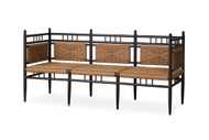 Lloyd Flanders Low Country 3-Seat Garden Bench