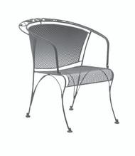 Woodard Briarwood Barrel Dining Arm Chair