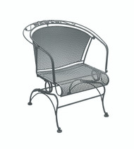 Woodard Briarwood Barrel Coil Spring Chair