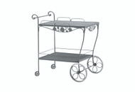 Woodard Briarwood Tea Cart