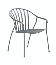 Woodard Valencia Barrel Dining Arm Chair (Stackable)