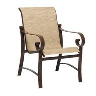 Woodard Belden Sling Dining Arm Chair