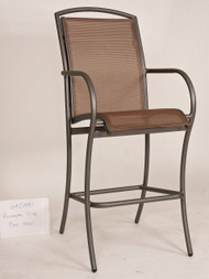 Woodard Rivington Sling High Dining Chair
