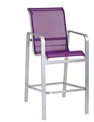 Woodard Landings Sling High Dining Chair