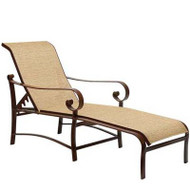 Woodard Belden Sling Adjustable Chaise