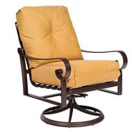 Woodard Belden Swivel Rocking Cushion Lounge Chair