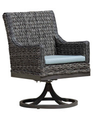 Ratana Boston Swivel Dining Arm Chair