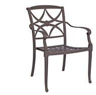 Woodard Wiltshire Stackable  Dining Arm Chair