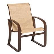 Woodard Cayman Isle Sling Dining Arm Chair