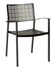 Woodard New Century Stacking Dining Arm Chair