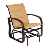 Woodard Cayman Isle Padded Sling Gliding Chair