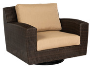 Woodard Saddleback Swivel Lounge Chair