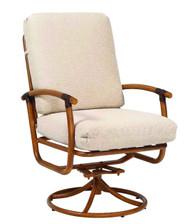 Woodard Glade Isle Swivel Rocking Dining Arm Chair