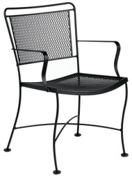 Woodard Constantine Dining Arm Chair Table and Chair Set