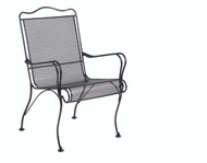 Woodard Tucson High Back  Dining Arm Chair